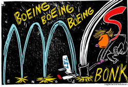 Trump Grounds Boeing by Randall Enos