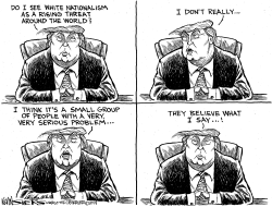 Trump and White Nationalism by Kevin Siers