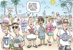 Spring Break by Joe Heller