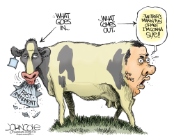 Devin Nunes Cow by John Cole