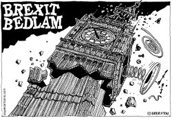 Brexit Bedlam by Wolverton