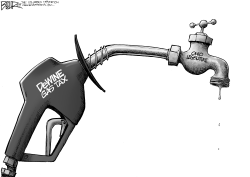 LOCAL OH Gas Tax Pump by Nate Beeler
