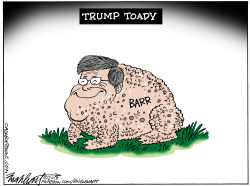 Bill Barr by Bob Englehart