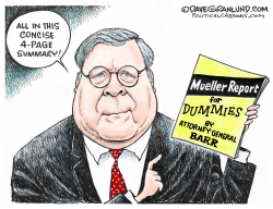 AG Barr and Mueller report by Dave Granlund