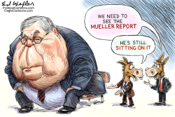 Barr Sitting On Report by Ed Wexler