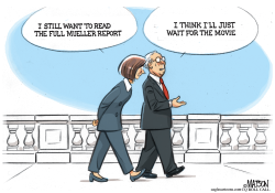 Waiting For The Full Mueller Report by RJ Matson