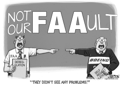 FAA and Boeing Share Blamelessness by RJ Matson