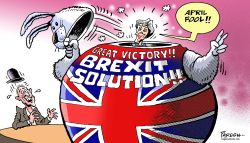 Brexit April fool by Paresh Nath