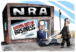 NRA going out of business sale by Dave Whamond