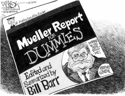 Mueller Report for Dummies by John Darkow