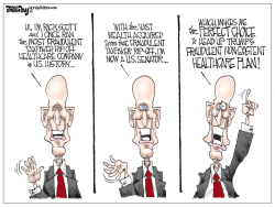 Rick Scott Healthcare Expert by Bill Day