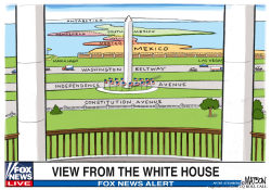 Fox News White House View Of Three Mexican Countries by RJ Matson