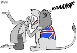 May and the British lion by Rainer Hachfeld