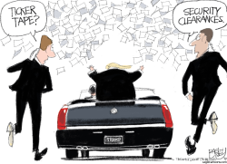 National Security Crisis by Pat Bagley