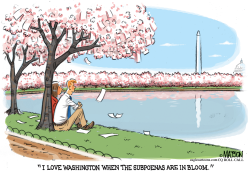 Subpoenas Are In Bloom In Washington by RJ Matson