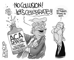 Trump and Obamacare by John Cole