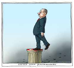 Erdogan takes a step backwards by Joep Bertrams