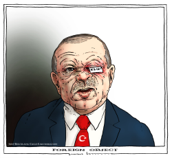 Erdogan Turkey -foreign object by Joep Bertrams
