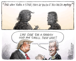 Biden behavior by Adam Zyglis
