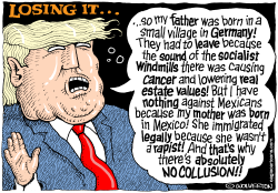 Trump Losing It by Wolverton