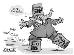 LOCAL NC GOP scandals by John Cole