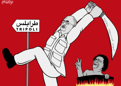 Haftar attacks Tripoli by Rainer Hachfeld