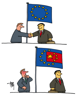 China in Europe by Arend Van Dam
