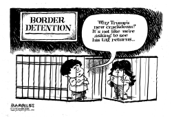 Trump Border crackdown by Jimmy Margulies