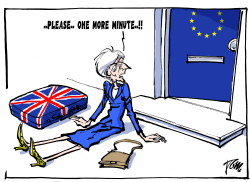 again brexit delay by Tom Janssen