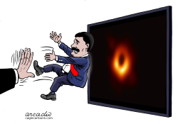 Testing the black hole discovered by Arcadio Esquivel