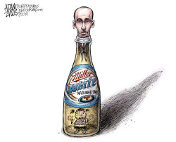 Stephen Miller by Adam Zyglis