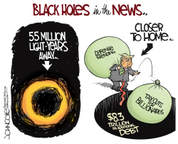Black holes in the news by John Cole