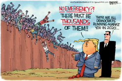 Democrat Emergency by Rick McKee