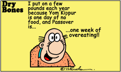 Passover Eating by Yaakov Kirschen