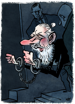 Assange detention by Kap