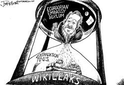 WikiLeaks by Joe Heller