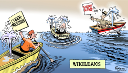 Assange and Wikileaks by Paresh Nath