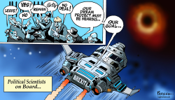 Brexit and Black hole by Paresh Nath