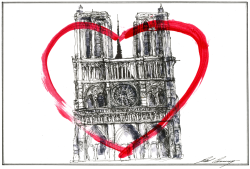 The Heart of Paris by Dale Cummings