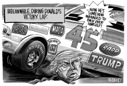 Trump's Victory Lap by Dave Whamond