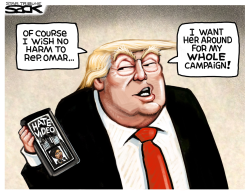 Omar Attack by Steve Sack