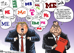 Obstruction and the Mueller Report by Kevin Siers
