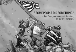 Rep Omar Minimizes 9/11 Attack by Jeff Darcy