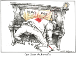 Open Season On Journalists by Dale Cummings