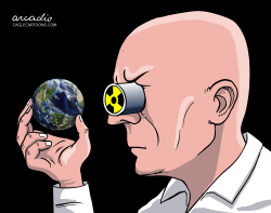 Nuclear analyzer by Arcadio Esquivel