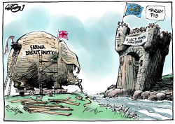 Let's just hit and say goodbye by Jos Collignon