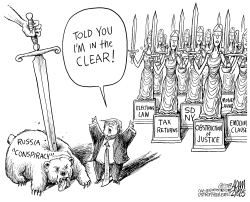 In the clear by Adam Zyglis