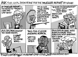 Mueller Report by David Fitzsimmons