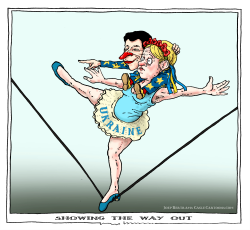 showing the way out by Joep Bertrams