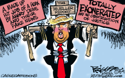 Mueller Report by Milt Priggee
